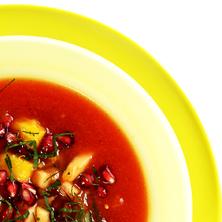 Fruktgazpacho Foto: Jurek Holzer