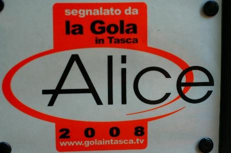 restaurangguiden Alice?
