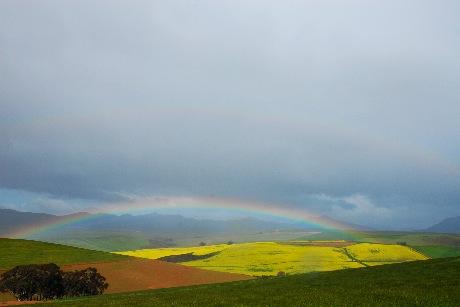 Regnbåge i Sydafrika