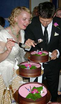 Tårtan i sin helhet Foto: Audi Bengtsson