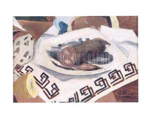 Målning av Georges Braque