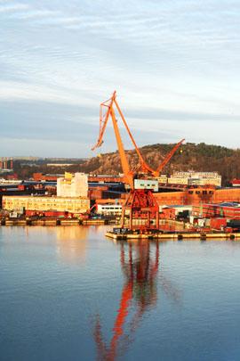 Göteborgs hamn Foto: Alice Brax