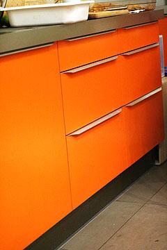 Oranget kök hos Swedish Taste Foto: Alice Brax