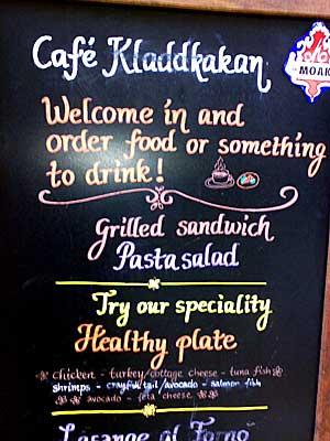 Café Kladdkakan Foto: Alice Brax