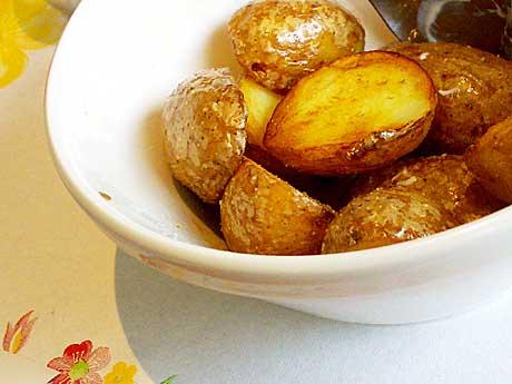 Ugnsbakad potatis Foto: Alice Brax