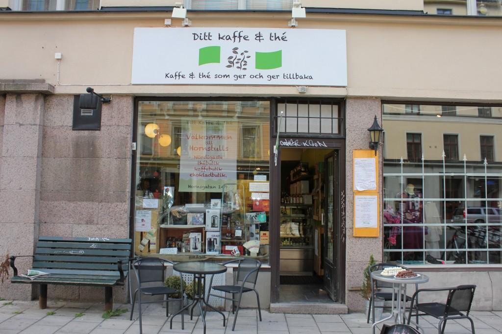 Ditt kaffe & tea i Hornstull
